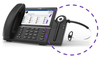 Wireless Headset for the MiVoice 6900 Series IP Phone